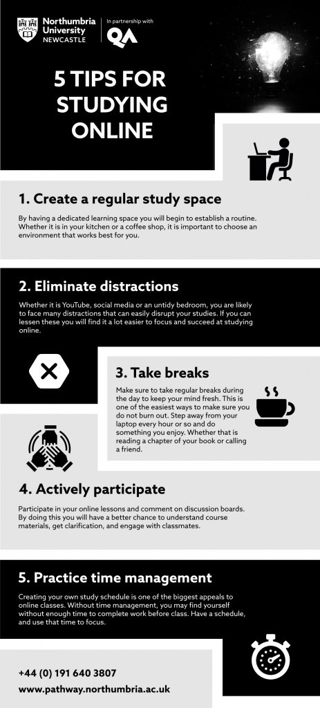 top tips for online studying